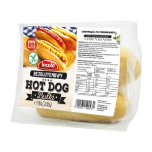 BEZGLUTENOWA BUŁKA HOT-DOG