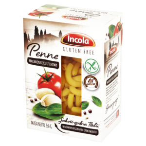Bezglutenowy makaron Penne INCOLA