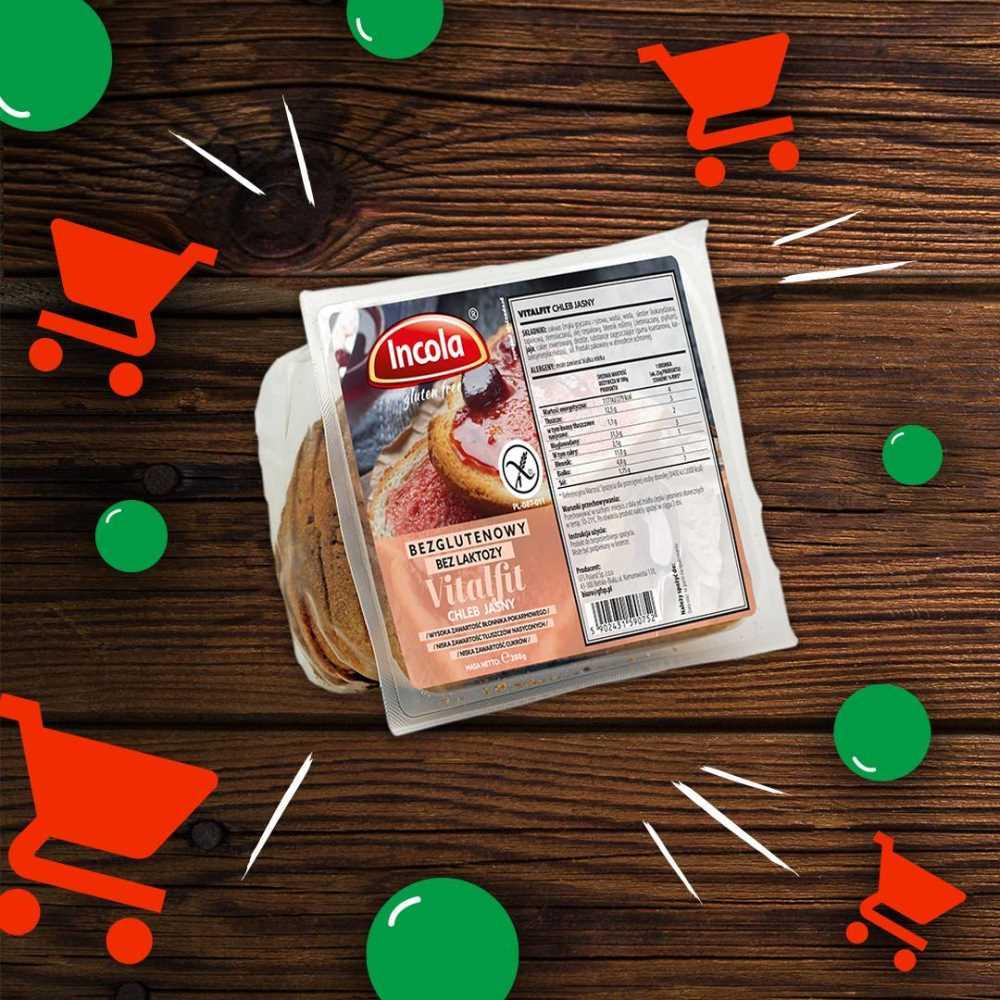 Chleb Vitalfit jasny do kupienia w 700 sklepach DINO!