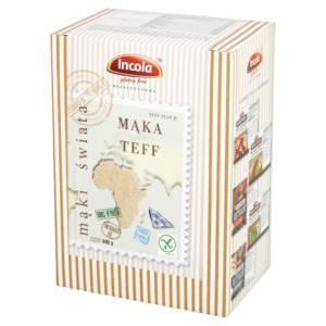 Bezglutenowa mąka teff INCOLA