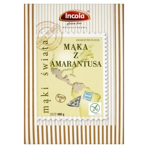 Bezglutenowa mąka z amarantusa INCOLA