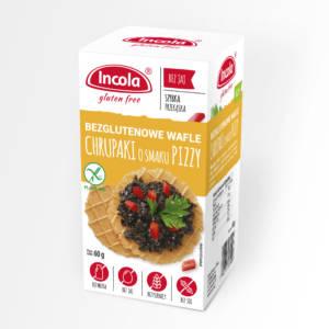 Bezglutenowe chrupaki o smaku pizzy INCOLA