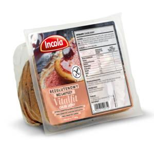 Bezglutenowy chleb Vitalfit jasny INCOLA
