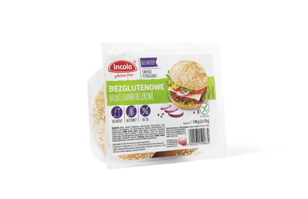 Bezglutenowe bułki hamburgerowe INCOLA
