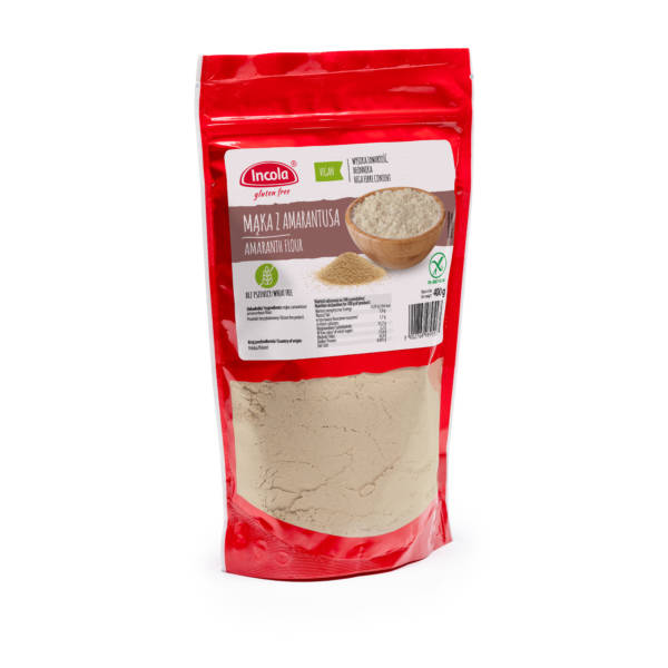 Mąka z amarantusa 400 g - INCOLA