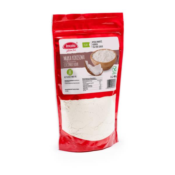Bezglutenowa mąka kokosowa 400 g - INCOLA
