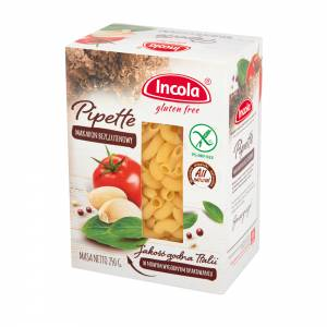 Bezglutenowy makaron Pipette 250g - INCOLA