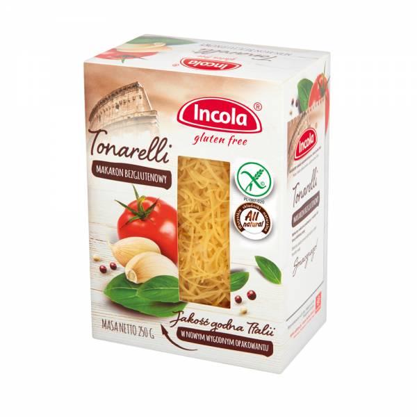 Bezglutenowy makaron Tonarelli 250g - INCOLA