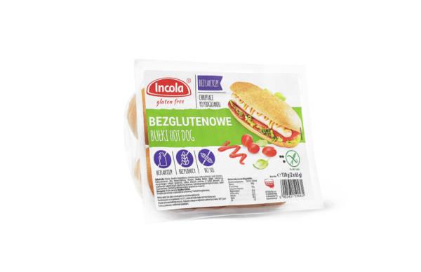 Bezglutenowe bułki hot-dog INCOLA