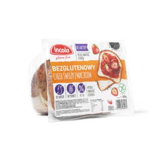Bezglutenowy chleb świeży z maczkiem 350 g INCOLA