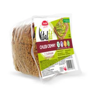 Bezglutenowy chleb Vitalfit ciemny SUPERFOODS z ziarnami