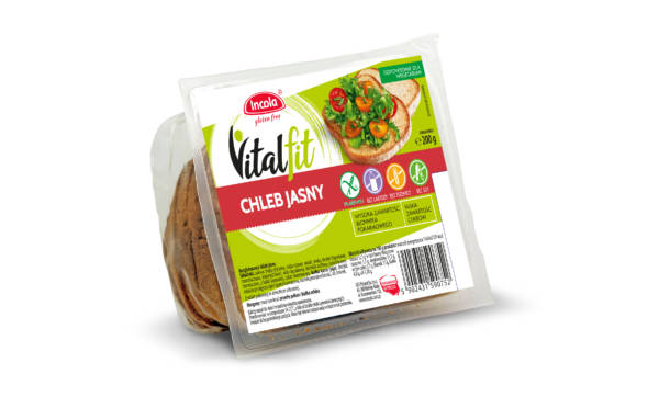 Bezglutenowy chleb Vitalfit jasny
