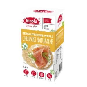 Bezglutenowe chrupaki naturalne - INCOLA