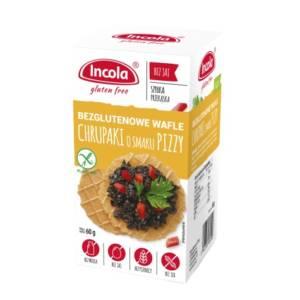 Bezglutenowe chrupaki o smaku pizzy - INCOLA