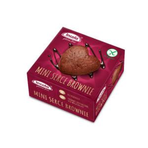 Bezglutenowe mini serce brownie INCOLA