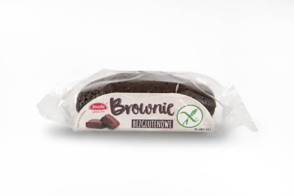 Bezglutenowe mini brownie INCOLA