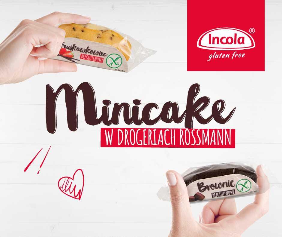 Minicakes INCOLA dostępne w drogeriach ROSSMANN!