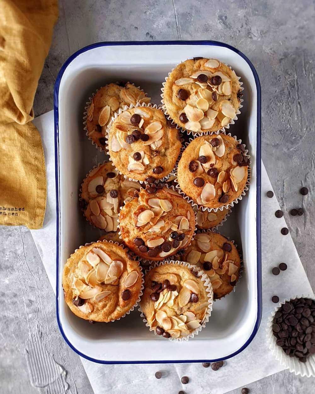 Bezglutenowe muffinki bananowe – idealne!