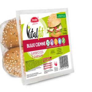 Vitalfit bułki ciemne superfoods z ziarnami - INCOLA