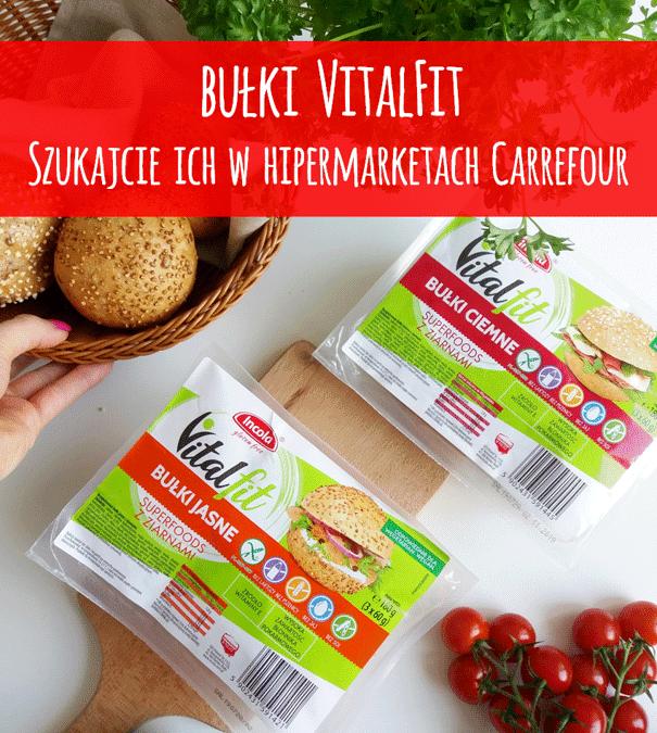 Wegańskie bułki Vitalfit SUPERFOODS w sklepach Carrefour