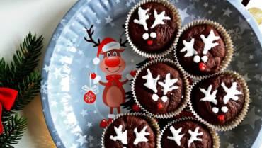 Bezglutenowe Boże Narodzenie: bezglutenowe babeczki czekoladowe