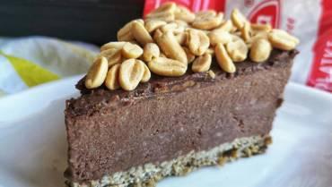 Bezglutenowe fit ciasto czekoladowo – orzechowe a'la brownie