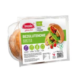 Bezglutenowe bułki pita - INCOLA