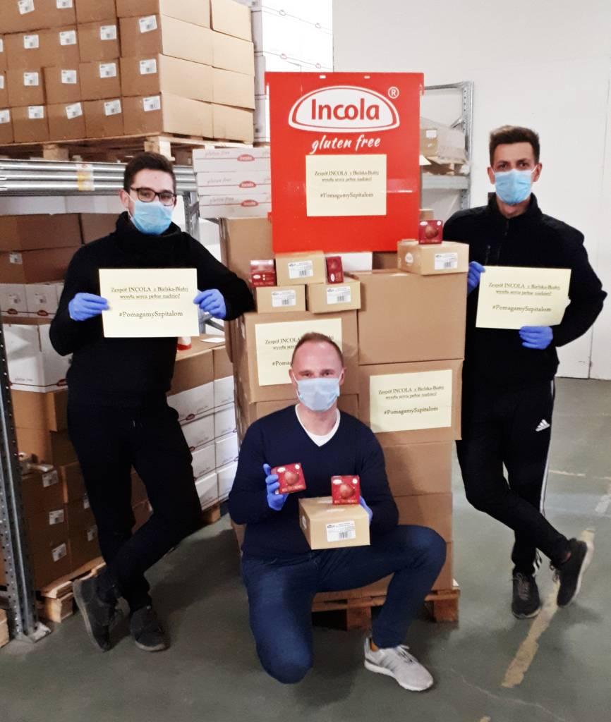 Zespół Incola - #PomagamySzpitalom