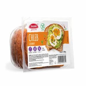 Bezglutenowy chleb ciemny 200 g INCOLA