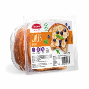 Bezglutenowy chleb jasny 200 g INCOLA