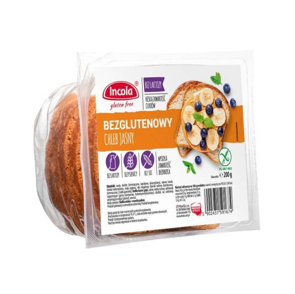 Bezglutenowy chleb jasny - INCOLA