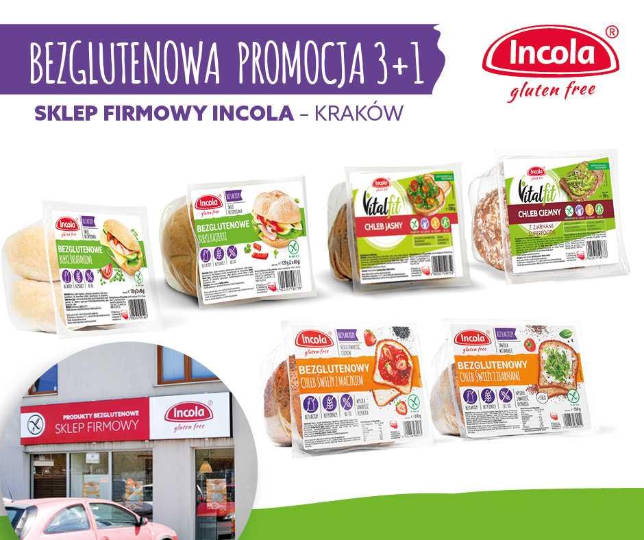 Promocja 3+1 w sklepie firmowym Incola - Kraków