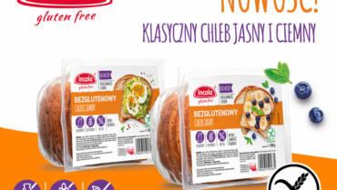 Nowe, codzienne pieczywo Incola – bezglutenowy chleb jasny i ciemny