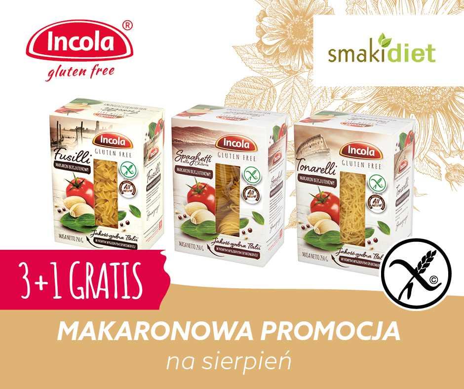 Makaronowa promocja na sierpień w SMAKIDIET.PL