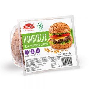 Bezglutenowe bułki hamburgerowe - INCOLA