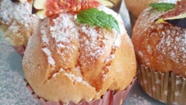 Bezglutenowe muffiny waniliowe