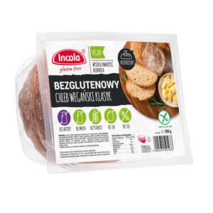 Bezglutenowy chleb wegański klasyk niekrojony - INCOLA
