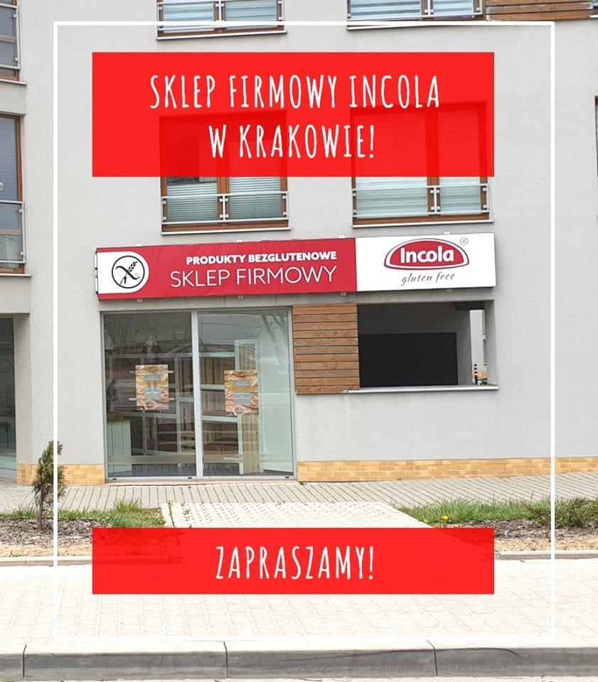 Sklep firmowy Incola Kraków - adres