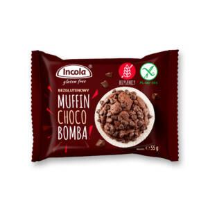 Bezglutenowy muffin choco bomba - INCOLA
