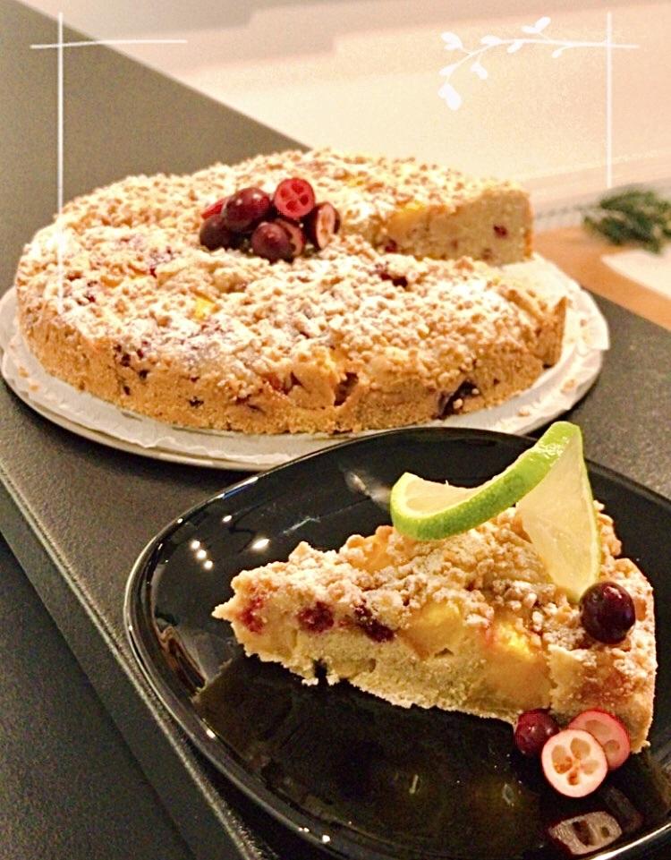 Bezglutenowe pyszne ciasto z owocami