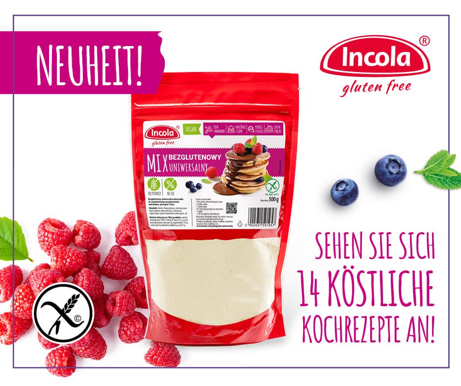 14 rezepte mit incola glutenfreier universalmix