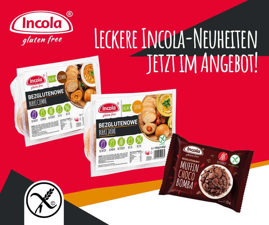 Leckere Incola-Neuheiten jetzt im Angebot!