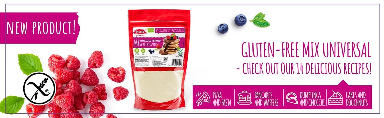 Incola Gluten Free Universal Mix 14 Rezepte