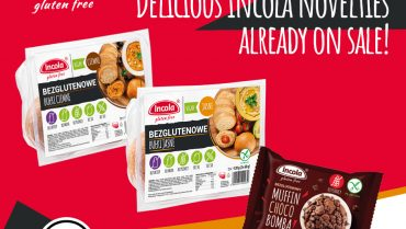 Delicious Incola novelties already on sale!