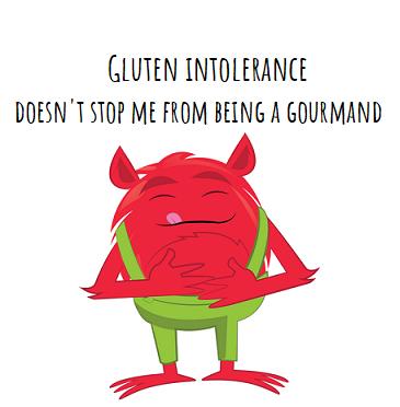 gluten intolerance - incola