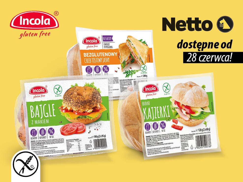 Produkty Incola w stałej sprzedaży w sklepach Netto